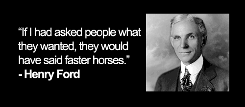 Ford Quote Mesmerizing Henry Ford's Argument Against Opinion Surveys  Lev Janashvili
